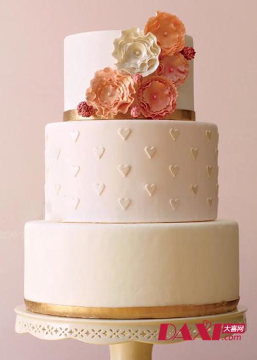 多层婚礼蛋糕 美味又可爱