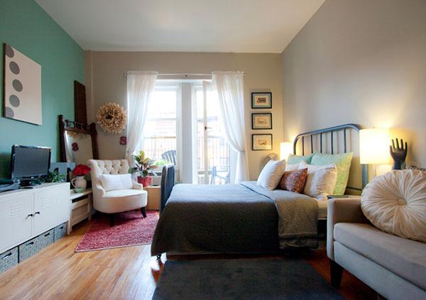 30平米单身公寓装修案例