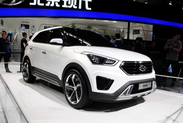北京现代ix25量产版或12.98万起售