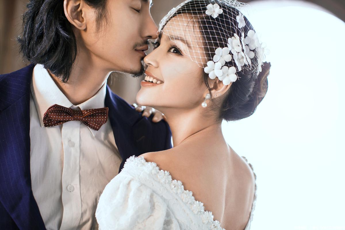 西洋风格婚纱摄影欣赏