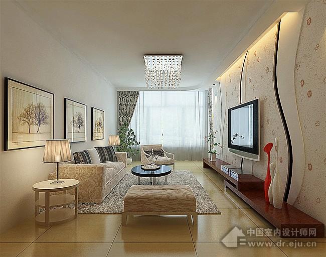 蒙古式客厅装修效果图