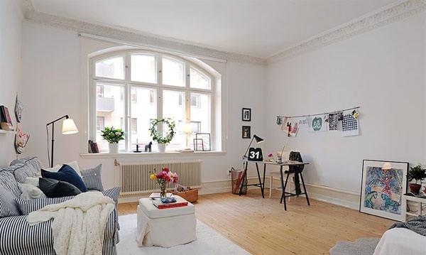小清新飘窗 小资女的单身公寓