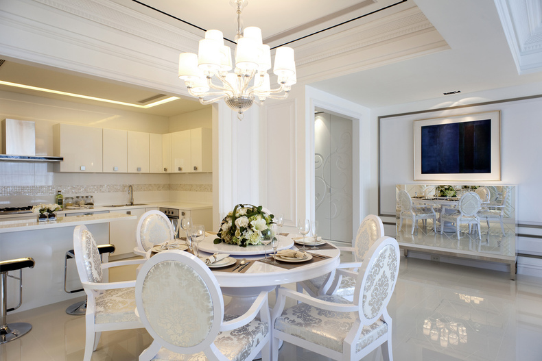 和谐家园两室一厅简欧效果图