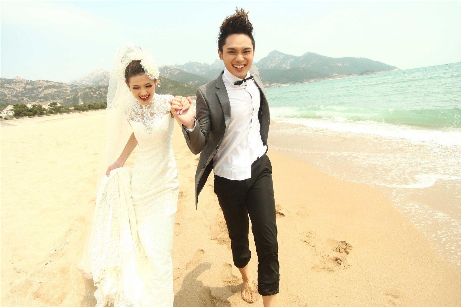 蒙娜丽莎婚纱摄影青岛拍摄