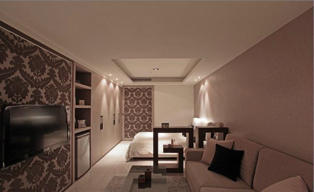 36平方米小户型现代风格卧室装修效果图