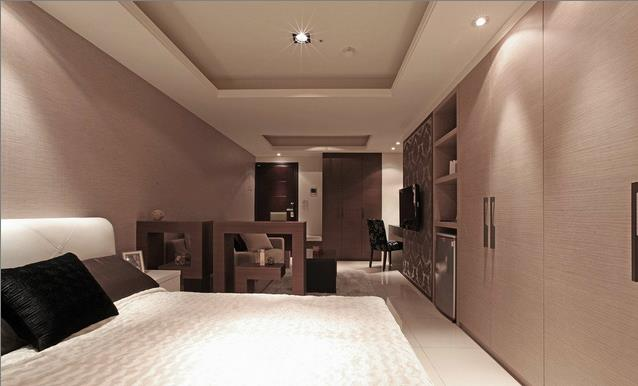 36平方米小戶型現代風格臥室裝修效果圖