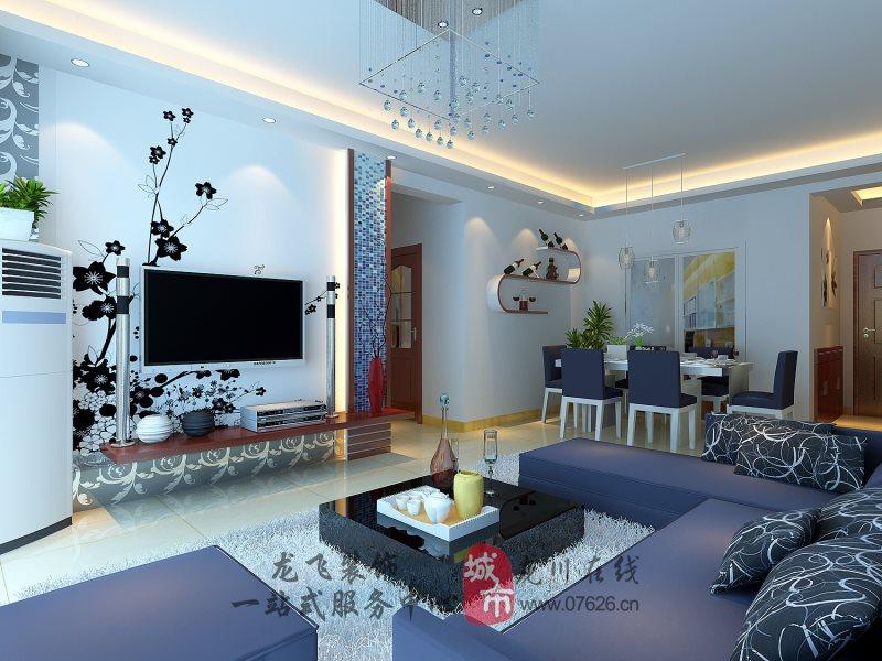 简约现代客厅3