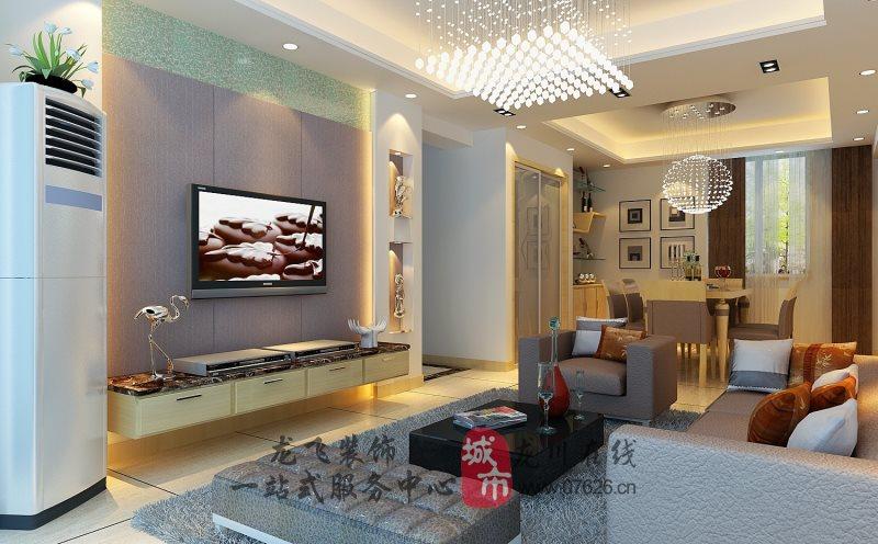 简约现代客厅4