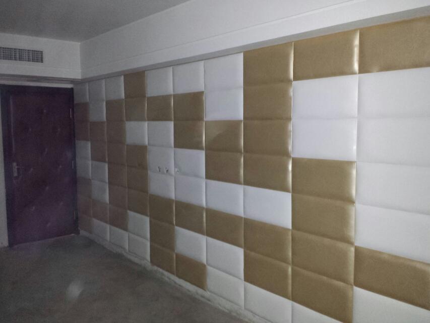 软包防盗门、背景墙