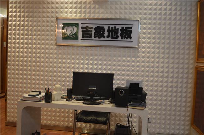 店内实景展示_实景展示_潢川吉象木地板 z&d陶瓷专卖