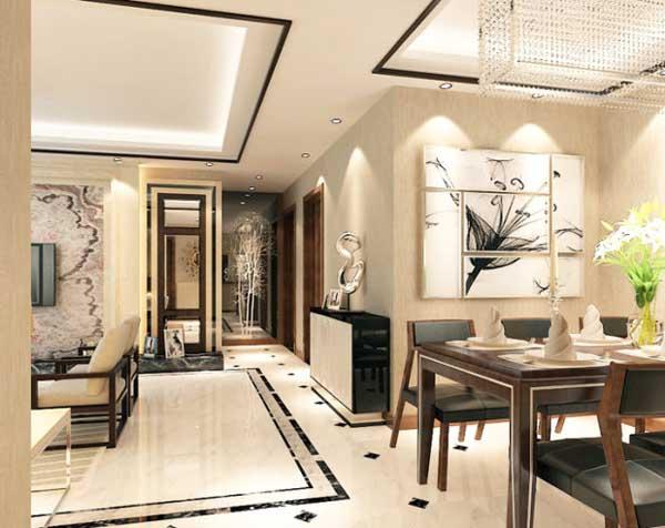 130平米三室两厅装修 简欧奢华三居室