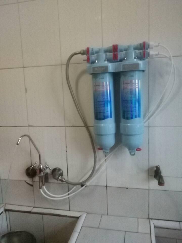 金利源净水机安装实例