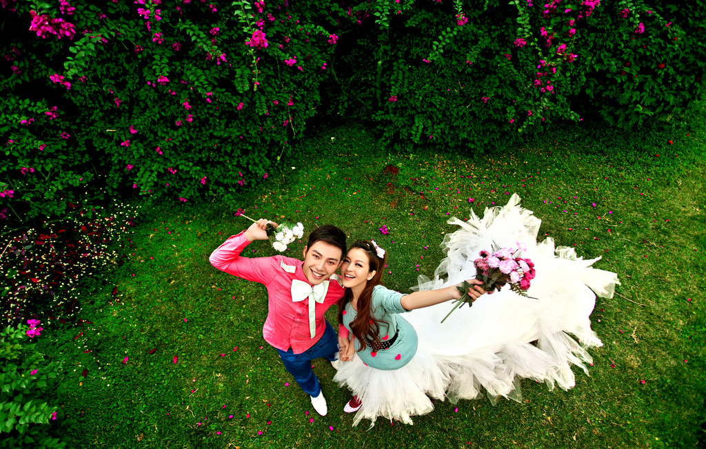 婚纱流行款