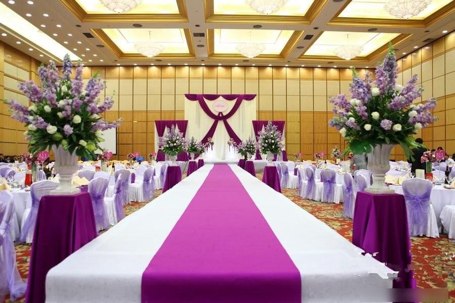 酒店婚礼效果