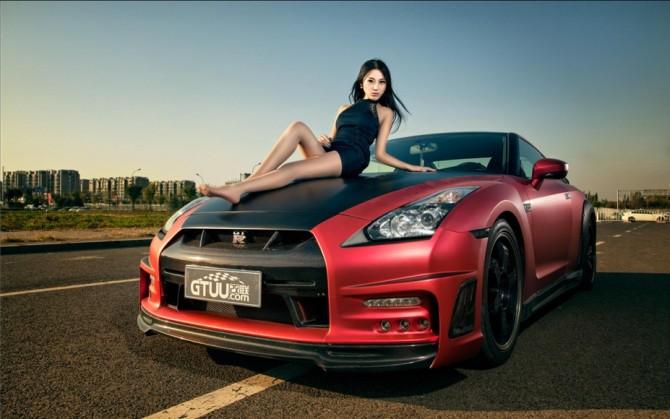 汽车与车模