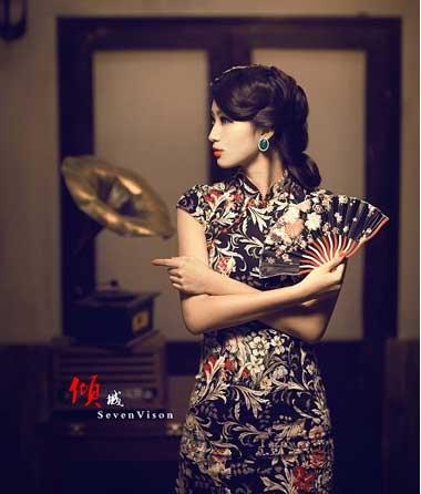 中式新娘发型详细步骤