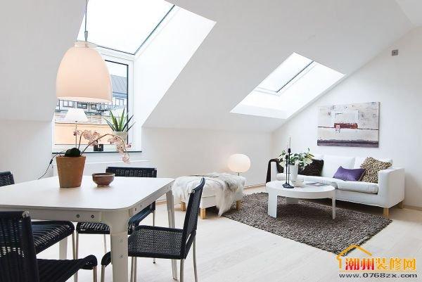 单身公寓完美北欧风设计