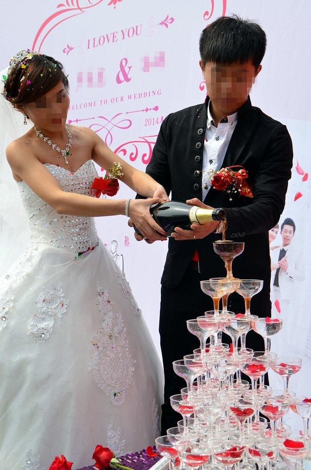 婚礼进行中