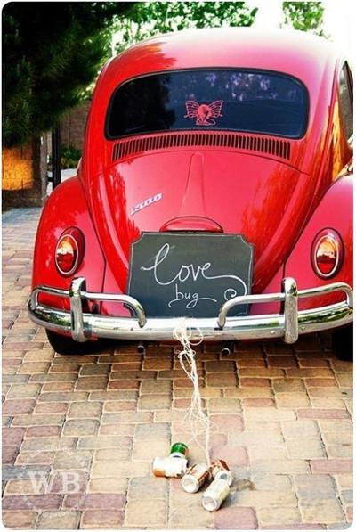 浪漫婚车装饰