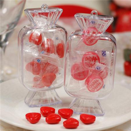 水晶婚礼喜糖盒