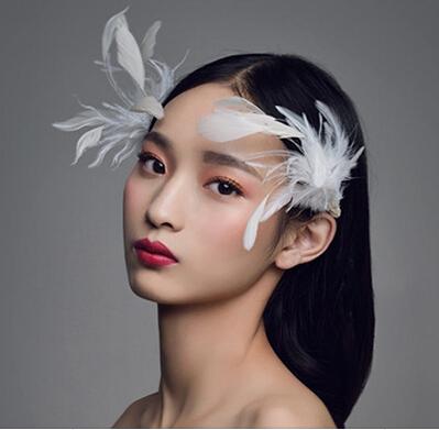 韩式唯美新娘发型图片