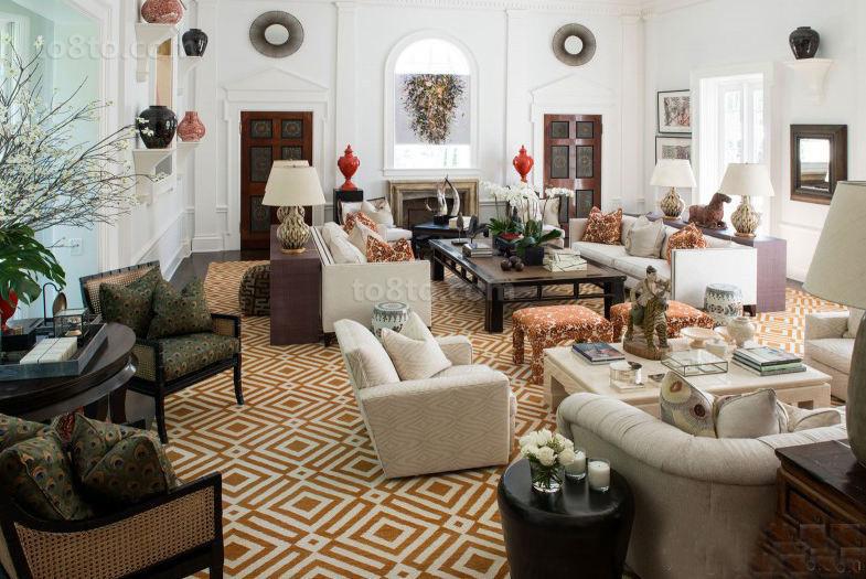 古典美式家具客厅
