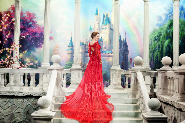罗马柱_作品欣赏_沛县佳丽国际婚纱摄影