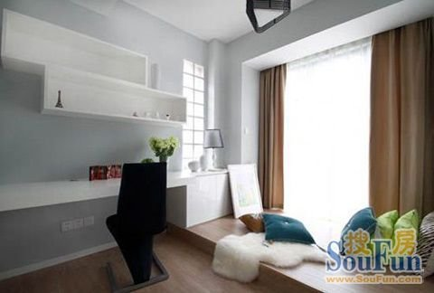 飘窗设计案例装点你家的小飘窗