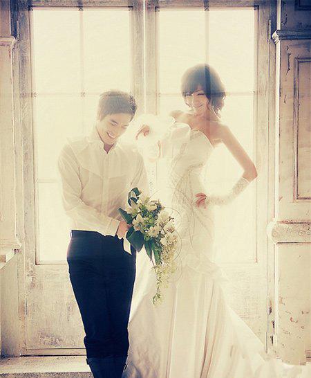 韩国明星婚纱照片欣赏_韩国明星