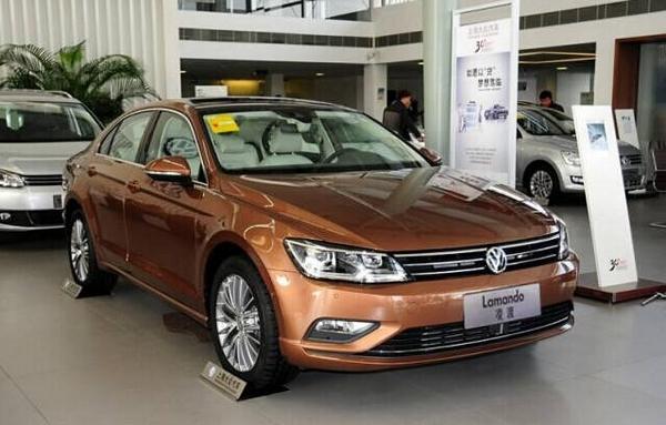上海大众新款轿跑凌渡上市啦!