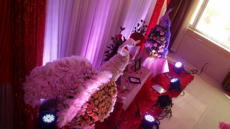 主题式婚礼之红色