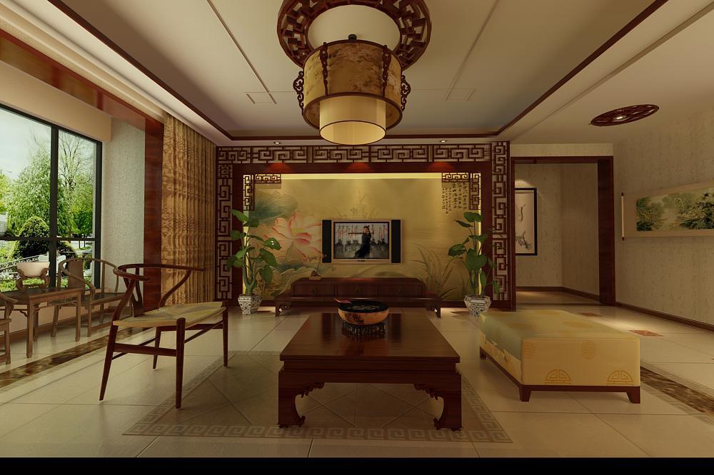 三室��d新中式 175平米