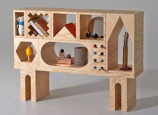 25块木头!任由你摆放的家具组合