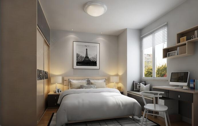 新婚必读 10-20平婚房卧室装修方案