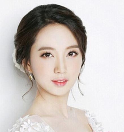 优雅端庄的韩式新娘发型赏析