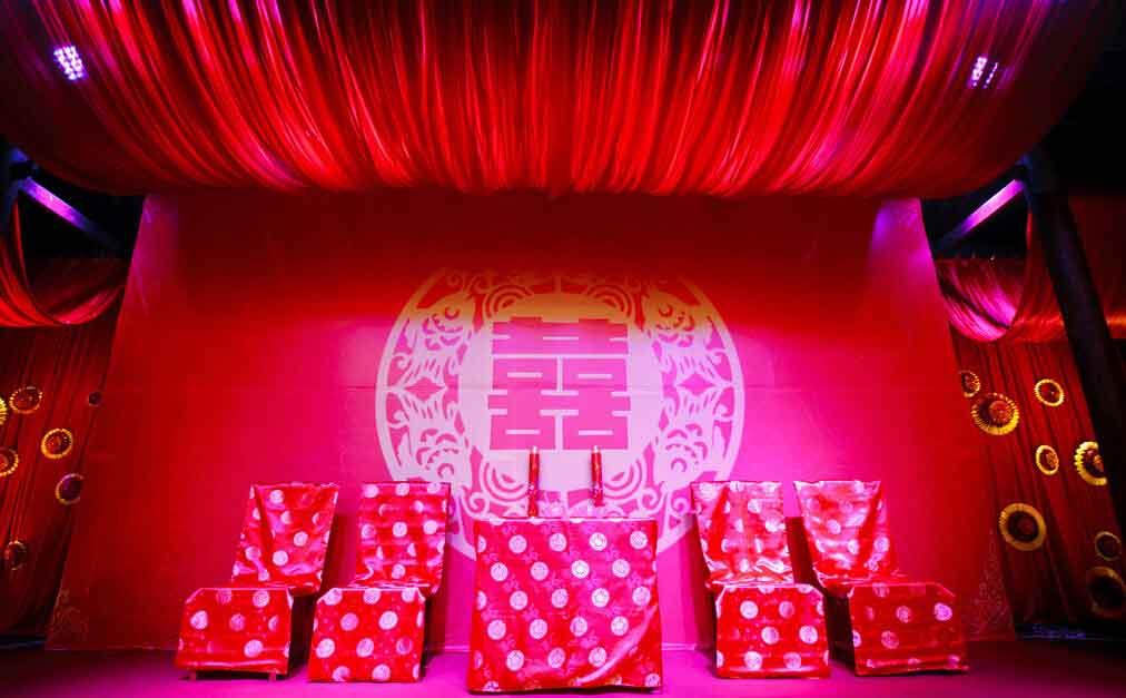 中式大红色主题婚礼策划攻略
