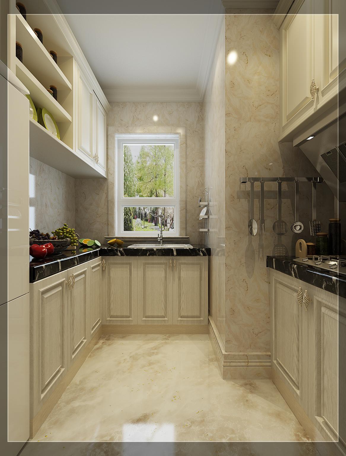 85平欧式风格样板房