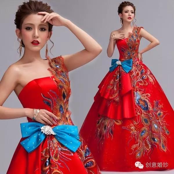 最美新娘旗袍