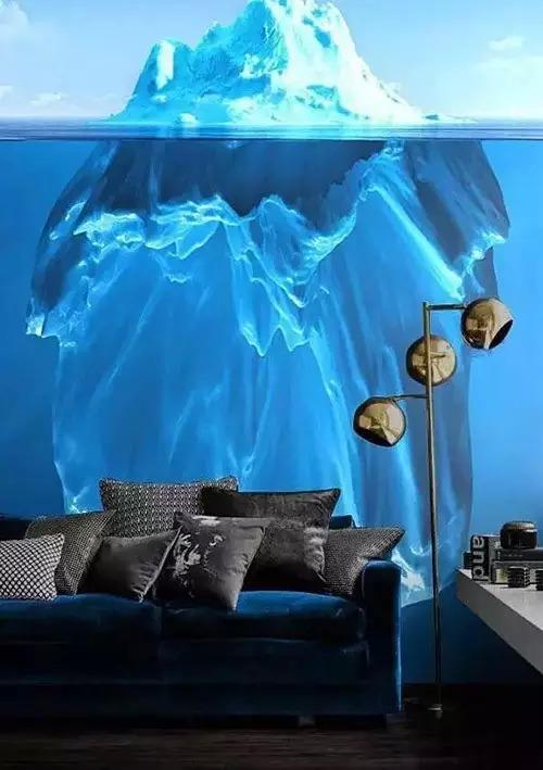 3D视觉效果背景墙