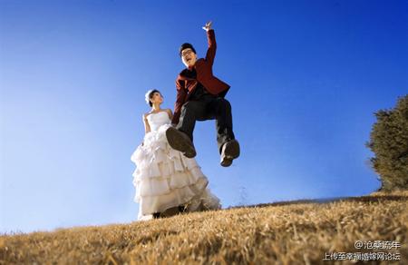 独一无二的婚纱照