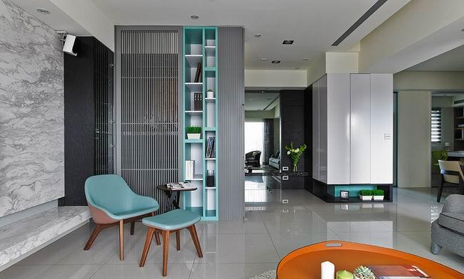 解压疗愈 湖水绿的小清新公寓