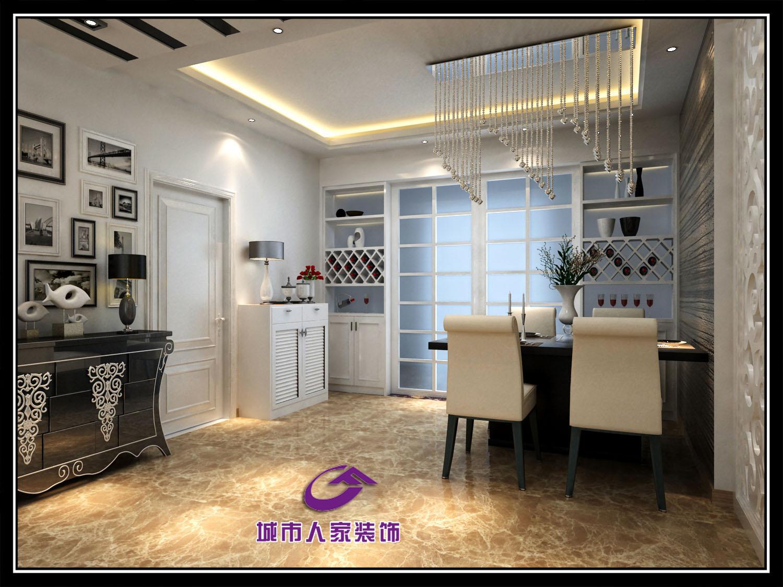 嘉宜庭院高层90平两室两厅效果图