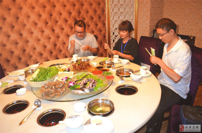 第2站美食试吃:豫膳金蝎羊蝎子火锅