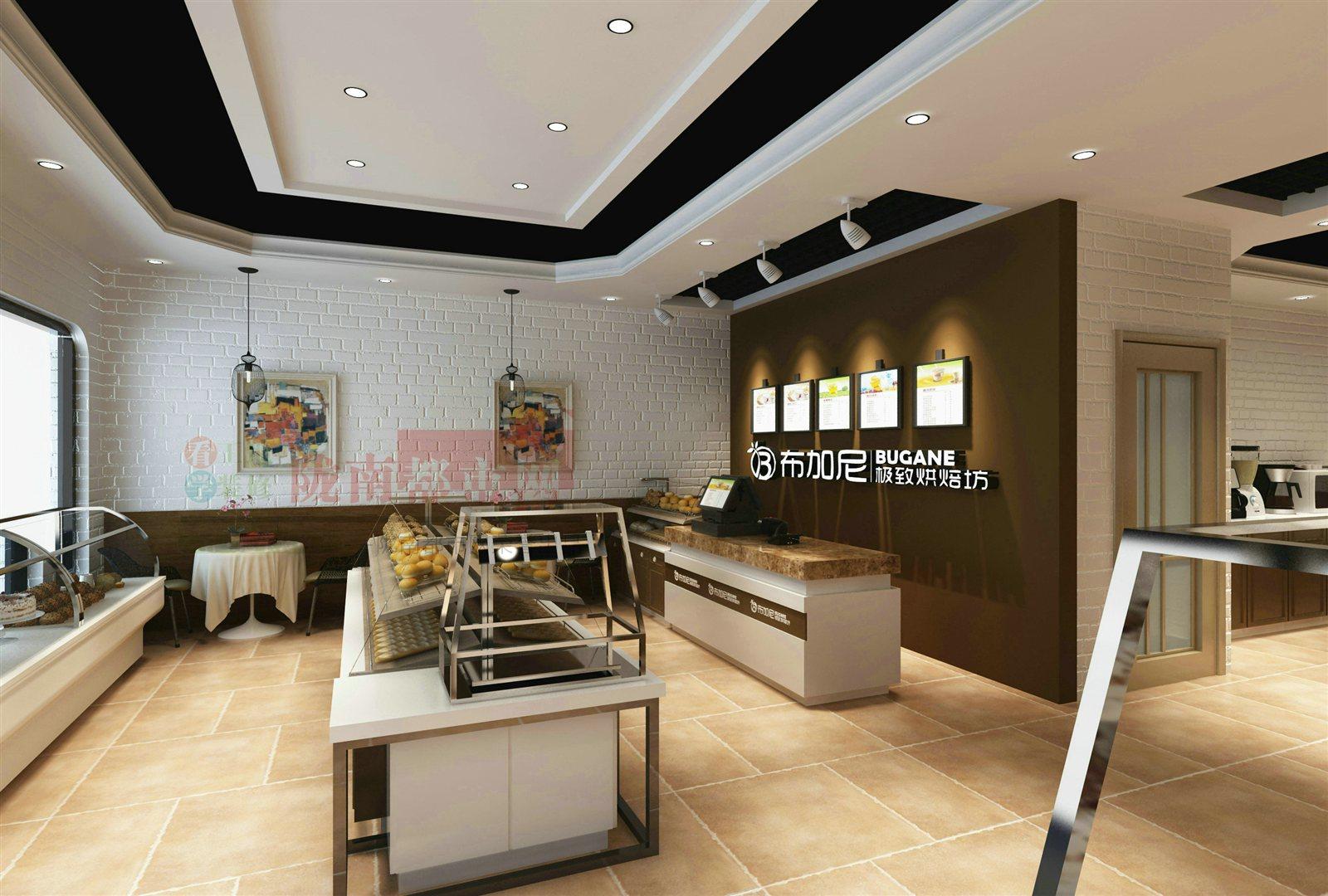 潘弘伟   楼盘名称   东江   商业空间   蛋糕店   设计风格   田园