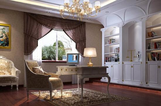 典雅の欧式书房
