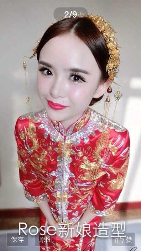 韩式新娘妆面造型