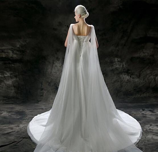 2015新款韩式高腰孕妇婚纱