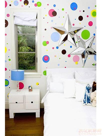 儿童房装修之创意手绘墙