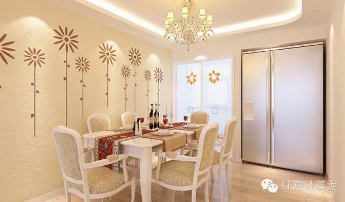 餐厅装修选用硅藻泥,开启美食与健康共享的美妙生活