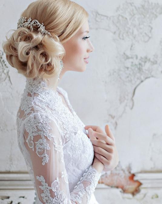 13种让人过目难忘的创意新娘发型
